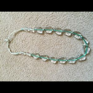 Green necklace!
